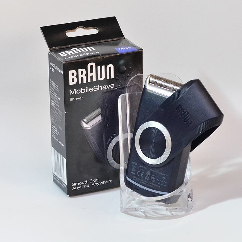 Braun Portable Face Shaver