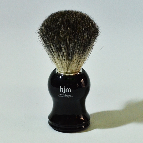 HJM Black Badger Bristle Shave Brush